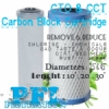CTO CCT Carbon Block Filter Cartridge Briquette  medium