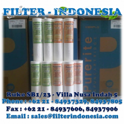 Kemflo Purerite PS 05 40 Filter Cartridge Filter Indonesia  large2