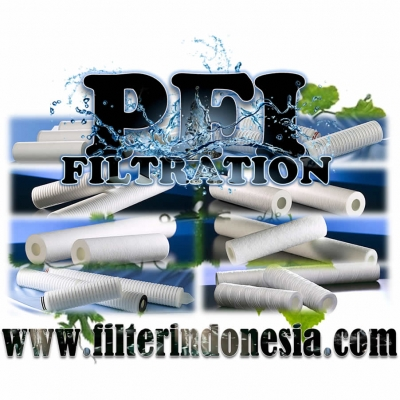 Spun Filter Cartridges 1 micron Filter Indonesia  large2