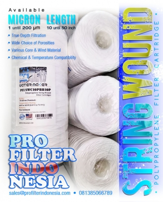 String Wound Water Filter Cartridge 10 micron Indonesia  large2