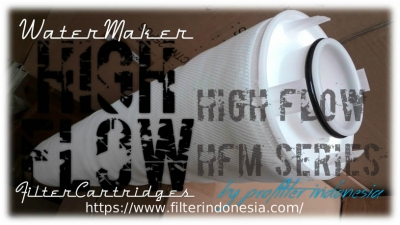 d d High Flow HFM Series Radial Pleat Filter Cartridge Indonesia  large2