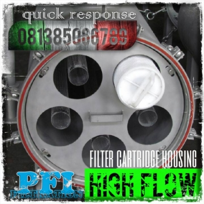 d d PFI High Flow Housing Cartridge Filter Indonesia  large2