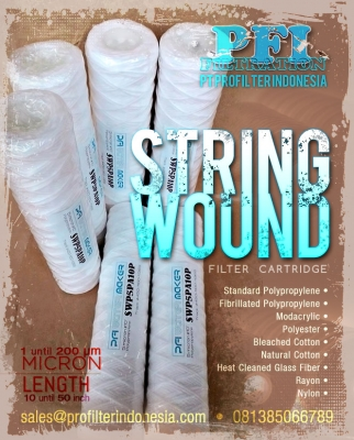 d d d PP String Wound Cartridge ProFilter Indonesia  large2