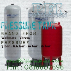 pressure tank filter indonesia wellmate varem  medium